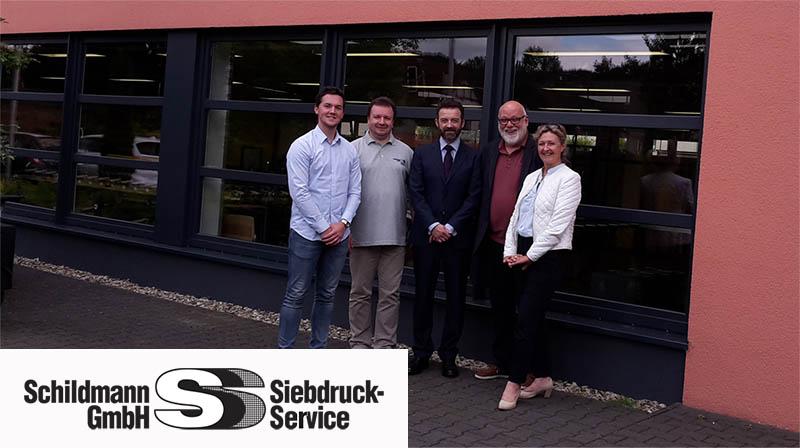 Partnership SCHILDMANN VFP INK TECHNOLOGIES Germany